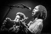A Vaulx Jazz: le noir et blanc des photos qui swingue avec la couleur des dessins